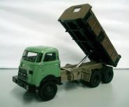 DAF AZ 1900 3axle Dump Truck, green