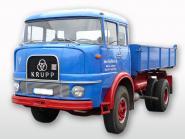KRUPP 2achs KF 980 mit Dreisieitenkipper, blau