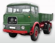 KRUPP 2achs KF980 mit Dreisieitenkipper, grün