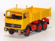 MB 3axle LPK 2232 with MEILLER Tipper, yellow