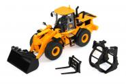 JCB wheel loader 456ZX with implements
