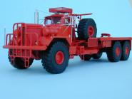 KENWORTH 953A Oilfield Platform Truck, red