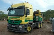 "MB Actros MP3 with NOOTEBOOM 6axle Balasttrailer ""HKV Schmidtz-Partner"""