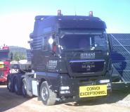 "MAN TGX XXL with Ballast Box ""Istrans"""