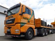 "MAN TGX XLX with GOLDHOFER Ballast Trailer ""Treffler"""