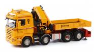 "SCANIA R Highline with PALFINGER met JIB 150002 ""Wiesbauer"""