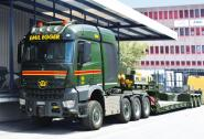 "MB Arocs MP4 8x6 with 3axle Lowloader ""Emil Egger"""