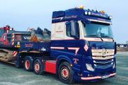 "MB Actros MP4 3axle with 2axle NOOTEBOOM Lowloader ""Frank Wulf"""