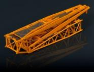 Gittermastspitze für LIEBHERR LTM1500-8.1, rot  RAL3002