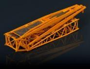 Gittermastspitze für LIEBHERR LTM1500-8.1, blau  RAL5015