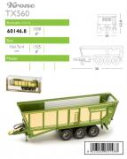 KRONE Ladewagen TX560 D