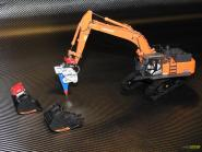 HITACHI Bagger ZX490-6 mit LOCmatic Felslöffel