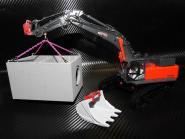 KIESEL Bagger KLS600 mit Teleskopunterwagen, Kanalkasten und Löffel