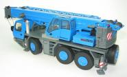 GROVE 3axle mobile crane GMK3055, blue