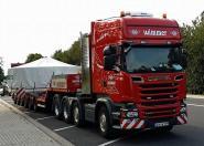 """SCANIA R 8x4 mit SCHEUERLE Eurocompact 2+4 Achsen """"Wimmer"""""""