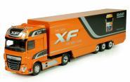 "DAF XF Euro 6 mit Auflieger ""DAF XF"", orange"
