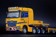 "MB Actros 4axle with NOOTEBOOM 7axle MCO Lowloader ""Tadano"""