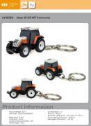 Schlüsselanhänger: STEYR Traktor 9105 MT Kommunal