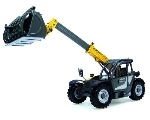 KRAMER Telehandler 4507T with Receyclingshovel