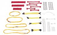 Lifting Kit with Spreader Beams 121 parts, red