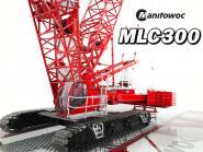 """MANITOWOC Raupenkran MLC300 mit Wippspitze """"All Crane"""""""