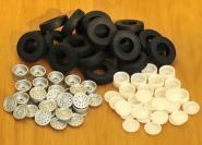 Reifen und Felgen für LTM 1200-5.1, grau RAL7012