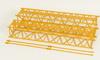 Auslegerstücke für LG1550, gelb