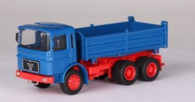 MAN F8 3achs Kipper, blau