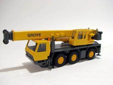 GROVE 3axle mobile crane GMK3050, yellow