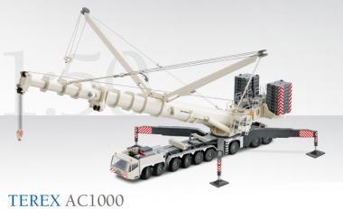 TEREX 9axle mobile crane AC1000