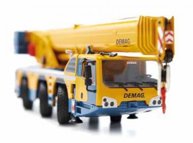 DEMAG 3axle mobile crane AC55