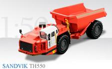 SANDVIK Untertage-Muldenkipper TH550
