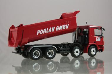 "MB Actros MP3 4axle with CARNEHL half pipe ""Pohlan"""