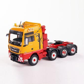 MAN TGX XXL 4-achs Schwerlastzugmaschine, gelb
