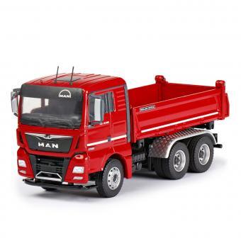 MAN TGX XL26.580 3achs mit MEILLER Kipper, rot