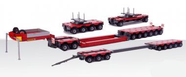 FAYMONVILLE Combimax Tiefladersystem-Set mit Zugdeichsel, RAL5005