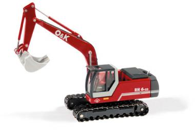 O&K Bagger RH 6-22 mit Tieflöffel