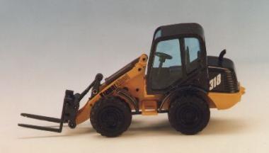 KRAMER Allrad Radlader 418 mit Standardschaufel