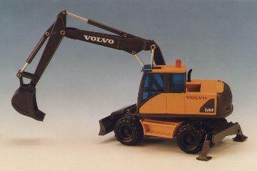 VOLVO Mobilbagger EW160