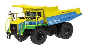 TEREX Muldenkipper TR60 ''Malcolm''