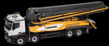MB Arocs 8x4 mit LIEBHERR Autobetonpumpe THP 140H 43 R4 XXT