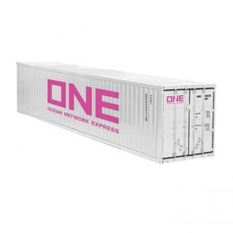 """40 Fuß Container """"ONE"""", weiß"""