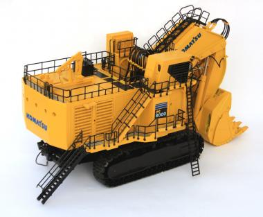 KOMATSU Excavator PC8000-6 Electric with Shovel