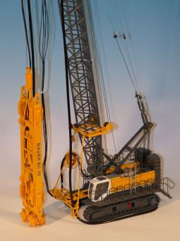 BAUER Cable Crane MC96 with Trench Cutter BC35 and HTS