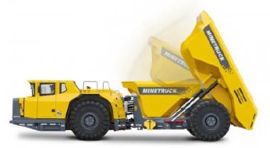 ATLAS-COPCO Untertage Dumper MT42