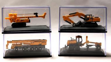 XCMG Baumaschinenset (4 Baumaschinen)