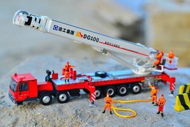 XCMG 6achs Feuerwehrkranwagen DG100
