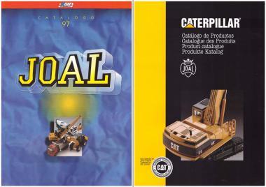 Set JOAL + Caterpillar Modell Kataloge 1997