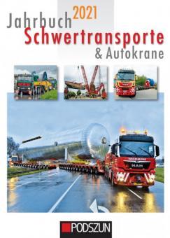 Buch: Jahrbuch Schwertransporte 2021