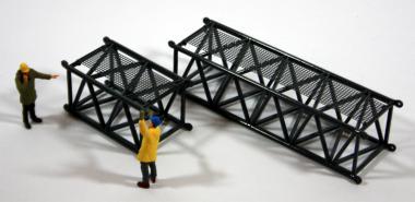 1x 6m + 1x 3m Gittermaststück für BAUER Seilbagger MC96